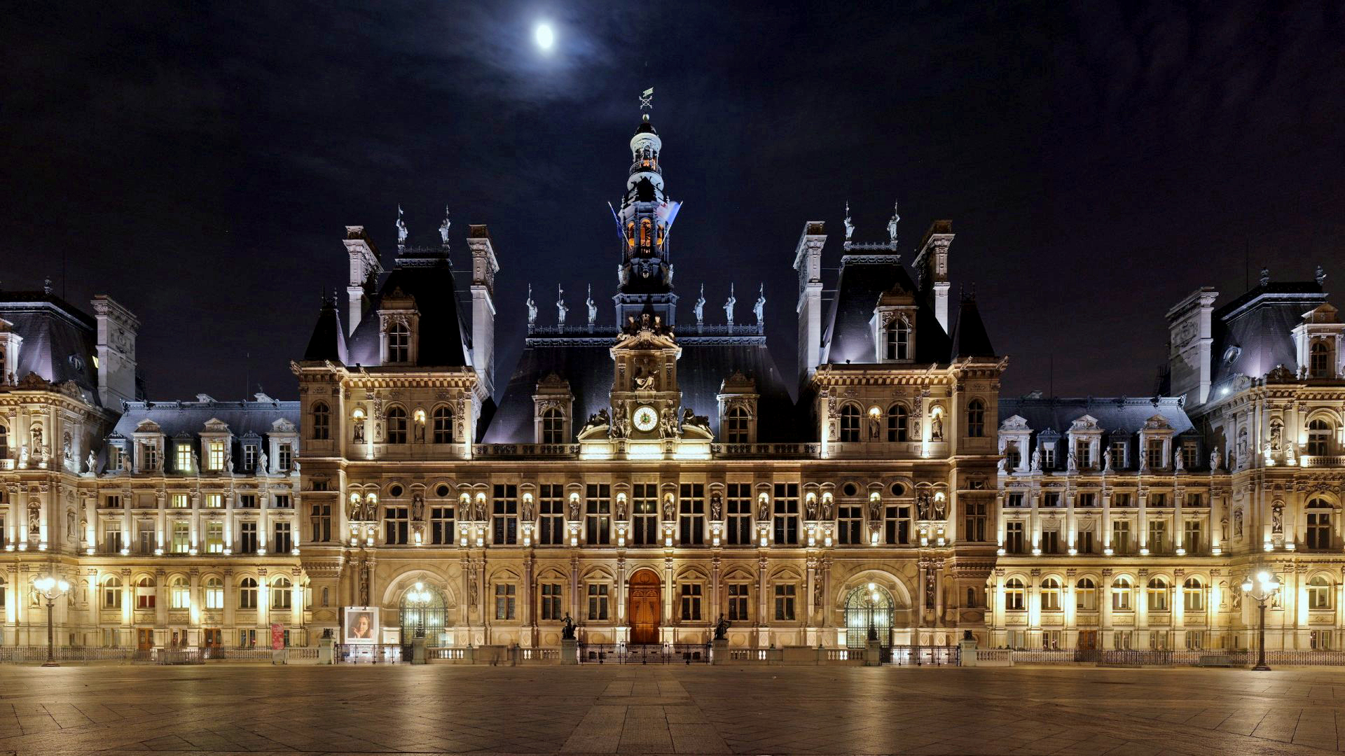 hotel de ville paris. Black Bedroom Furniture Sets. Home Design Ideas